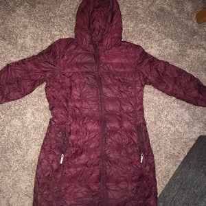 Large Michael Kors down feather packable coat